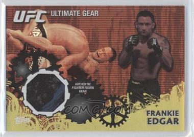2010 Topps UFC Ultimate Gear Relic Gold #UG-FE - Frankie Edgar /108