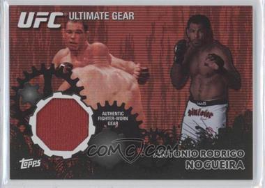 "2010 Topps UFC Ultimate Gear Relic Onyx #UG-AN - Antonio Rodrigo ""Minotauro"" Nogueira /88"
