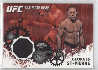 2010 Topps UFC Ultimate Gear Relic #UG-GSP - Georges St-Pierre