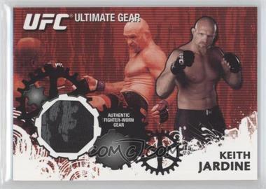 2010 Topps UFC Ultimate Gear Relic #UG-KJ - Keith Jardine