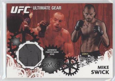 2010 Topps UFC Ultimate Gear Relic #UG-MS - Mike Swick