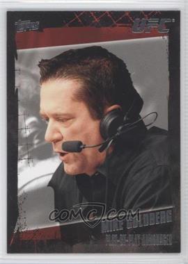 2010 Topps UFC #168 - Mike Goldberg
