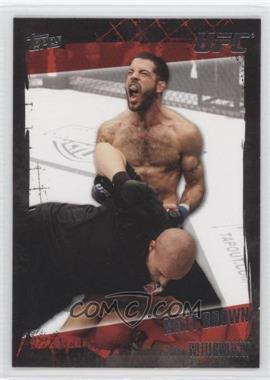 2010 Topps UFC #27 - Matt Brown