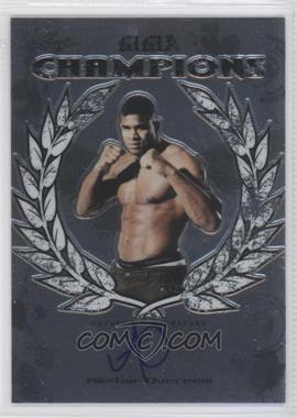 2011 Leaf Metal MMA - [???] #CH-AO-1 - Alistair Overeem