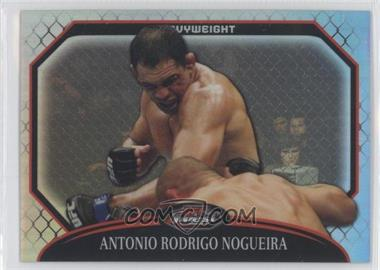 "2011 Topps UFC Finest - [Base] - Refractor #12 - Antonio Rodrigo ""Minotauro"" Nogueira /888"