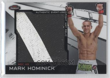 2011 Topps UFC Finest - Jumbo Fight Mat Relics #MR-MH - Mark Hominick