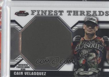 2011 Topps UFC Finest - Threads Jumbo Relics #JR-CV - Cain Velasquez