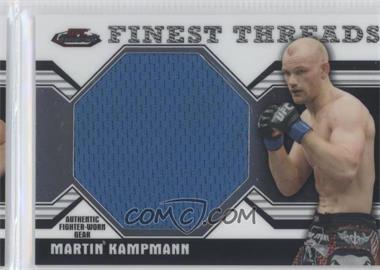 2011 Topps UFC Finest - Threads Jumbo Relics #JR-MK - Martin Kampmann