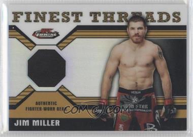 2011 Topps UFC Finest - Threads Relics - Refractor #R-JM - Jim Miller /88