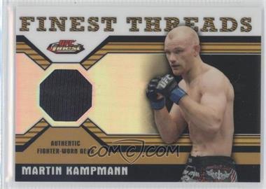 2011 Topps UFC Finest - Threads Relics - Refractor #R-MK - Martin Kampmann /88