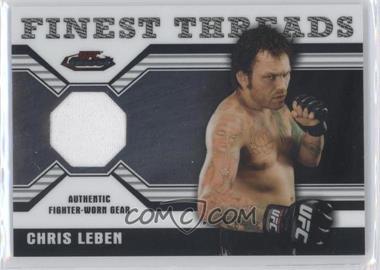 2011 Topps UFC Finest - Threads Relics #R-CL - Chris Leben