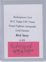 Rick Story [REDEMPTION Being Redeemed]