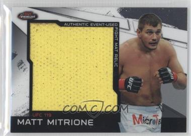 2011 Topps UFC Finest [???] #MR-MM - Matt Mitrione