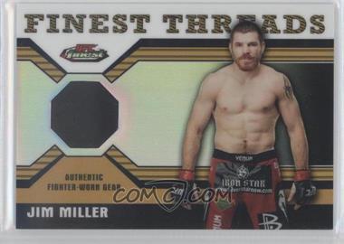 2011 Topps UFC Finest [???] #R-JM - Jim Miller