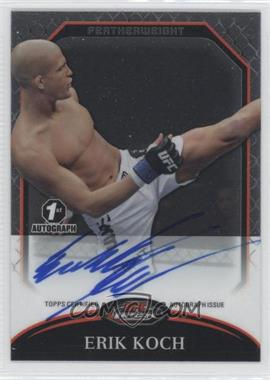 2011 Topps UFC Finest Fighter Autographs #A-EK - Erik Koch