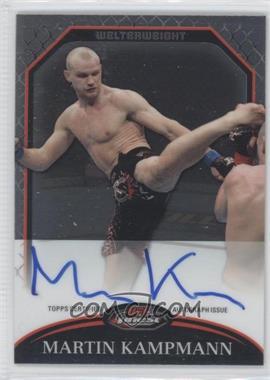 2011 Topps UFC Finest Fighter Autographs #A-MK - Martin Kampmann