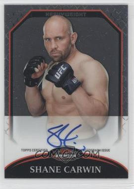 2011 Topps UFC Finest Fighter Autographs #A-SC - Shane Carwin