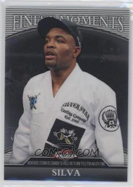 """2011 Topps UFC Finest Finest Moments #FM-AS - Anderson """"The Spider"""" Silva (Anderson Silva)"""