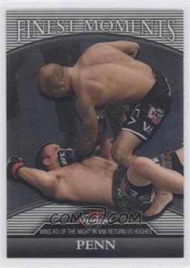 2011 Topps UFC Finest Finest Moments #FM-BJP - B.J. Penn (BJ Penn) /388