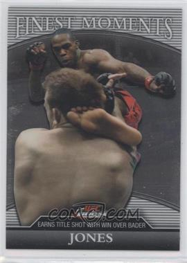 "2011 Topps UFC Finest Finest Moments #FM-JJ - Jon ""Bones"" Jones (Jon Jones) /388"