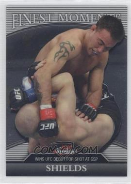 2011 Topps UFC Finest Finest Moments #FM-JS - Jake Shields /388