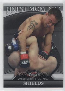 2011 Topps UFC Finest Finest Moments #FM-JS - Jake Shields /388
