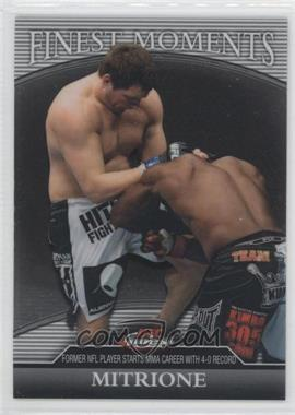 2011 Topps UFC Finest Finest Moments #FM-MM - Matt Mitrione /388