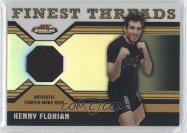 2011 Topps UFC Finest Finest Threads Relics Refractor #R-KF - Kenny Florian /88