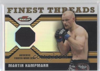 2011 Topps UFC Finest Finest Threads Relics Refractor #R-MK - Martin Kampmann /88
