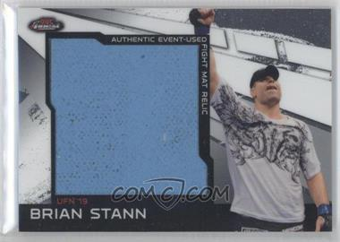 2011 Topps UFC Finest Jumbo Fight Mat Relics #MR-BST - Brian Stann