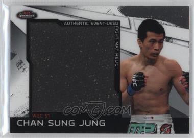 2011 Topps UFC Finest Jumbo Fight Mat Relics #MR-CSJ - Chan Sung Jung