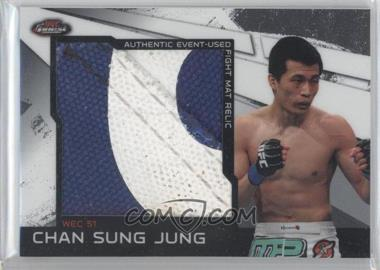 2011 Topps UFC Finest Jumbo Fight Mat Relics #MR-CSJ - Chan Sung Jung