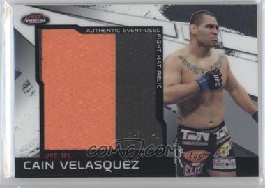 2011 Topps UFC Finest Jumbo Fight Mat Relics #MR-CV - Cain Velasquez
