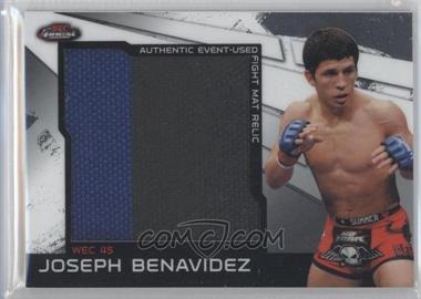 2011 Topps UFC Finest Jumbo Fight Mat Relics #MR-JB - Joseph Benavidez (Joe Benavidez)