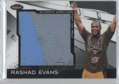 2011 Topps UFC Finest Jumbo Fight Mat Relics #MR-RE - Rashad Evans