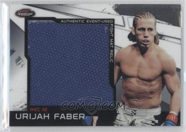 2011 Topps UFC Finest Jumbo Fight Mat Relics #MR-UF - Urijah Faber