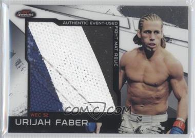 2011 Topps UFC Finest Jumbo Fight Mat Relics #MR-UF - Urijah Faber
