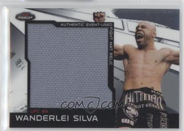 """2011 Topps UFC Finest Jumbo Fight Mat Relics #MR-WS - Wanderlei """"The Axe Murderer"""" Silva (Wanderlei Silva)"""