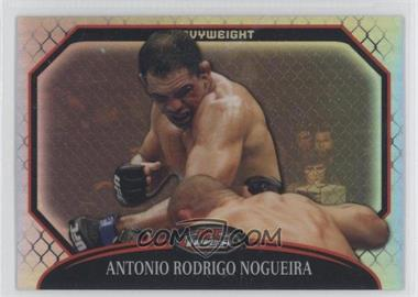 "2011 Topps UFC Finest Refractor #12 - Antonio Rodrigo ""Minotauro"" Nogueira /888"