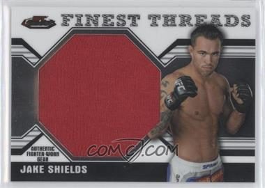 2011 Topps UFC Finest Threads Jumbo Relics #JR-JS - Jake Shields