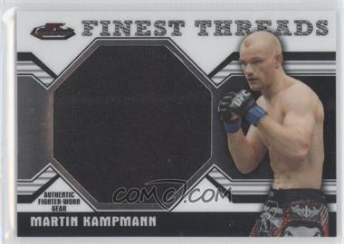 2011 Topps UFC Finest Threads Jumbo Relics #JR-MK - Martin Kampmann