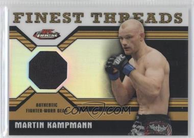 2011 Topps UFC Finest Threads Relics Refractor #R-MK - Martin Kampmann /88
