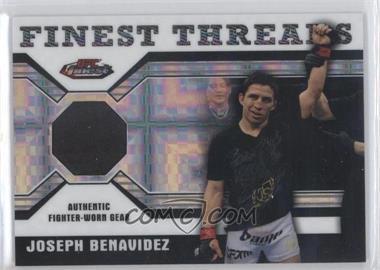 2011 Topps UFC Finest Threads Relics X-Fractor #R-JB - Joseph Benavidez (Joe Benavidez) /188