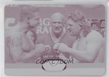 2011 Topps UFC Moment of Truth - [???] #SS-MN - Frank Mir, Roy Nelson /1