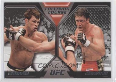 2011 Topps UFC Moment of Truth - Colission Course Duals #CC-GB - Forrest Griffin, Stephan Bonnar