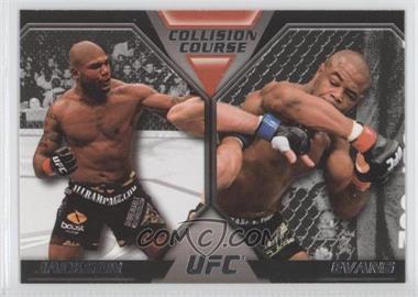 2011 Topps UFC Moment of Truth - Colission Course Duals #CC-JE - Quinton Jackson, Rashad Evans