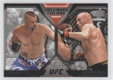 2011 Topps UFC Moment of Truth - Colission Course Duals #CC-LC - Chuck Liddell, Randy Couture