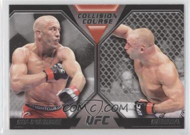 2011 Topps UFC Moment of Truth - Colission Course Duals #CC-SS - Georges St-Pierre, Matt Serra