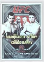 UFC on VS 4 (Nate Marquardt, Rick Story, Cheick Kongo, Pat Barry)