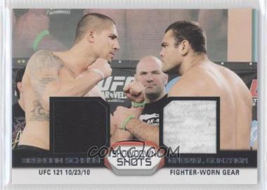 2011 Topps UFC Moment of Truth - Showdown Shots Duals - Relics [Memorabilia] #SSDR-SG - Brendan Schaub, Gabriel Gonzaga